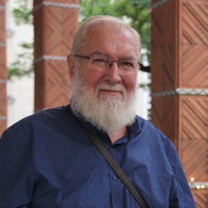 Grätzel-Bewohner Martin Kainz