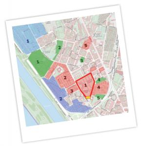 Karte Jedlesee