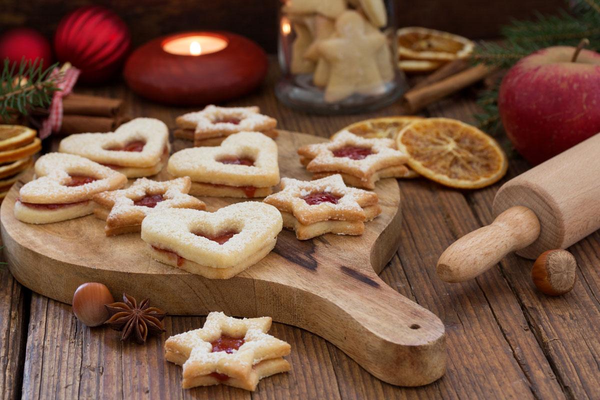 Dirndl-Dinkel-Kekse